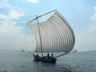 観光帆曳船